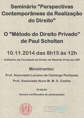 Symposium in Sao Paulo about Paul Scholten's theory